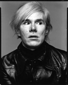 Andy Warhol. An artist who's personal identity is iconic. Unusual for a visual artist.