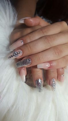 Nails, Beauty, White French Tip, French Tips, Finger Nails, Ongles, Nail, Sns Nails