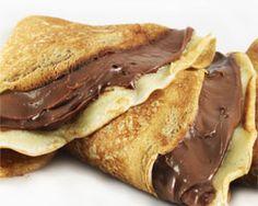 Pancakes de Nocilla. #recetas #5Cook #5ingredientes #cocina #chocolate