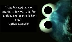 Cookie monster ♥