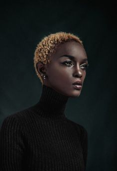 Personal website of African Fashion Model Ramona Fouziah Nanyombi Black Girls Rock, Black Girl Magic, Brown Skin, Dark Skin, Natural Hair Styles, Short Hair Styles, My Champion, Rides Front, Pelo Natural