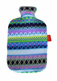 Fashy Hot Water Bottle with Cover Peru-Design Pink/ Blue 2 L @ £13.44