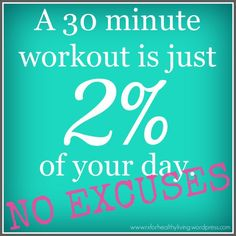 This is to true!  30 minutes a day!! ANYONE can do that!