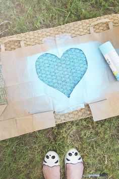 ModCloth   3 Steps to the Cutest DIY Doormat on the Block