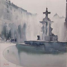 Battles Fountain by   Manolo Jimenez Albolote, Spain