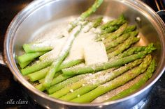 Make the BEST Asparagus in Under 10 Minutes! | Ella Claire