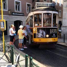 Lisbon's historic tram 28