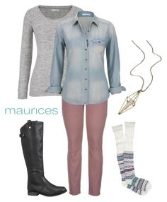 """Fall 2015"" by maurices ❤ liked on Polyvore featuring maurices"