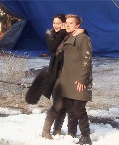 Behind The Scenes| Serafini Amelia| Catching Fire-BTS: District 12