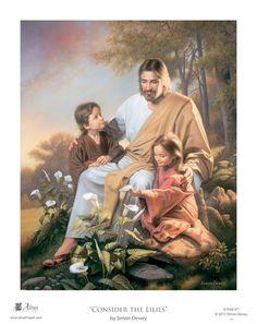 amazing art of Jesus with children