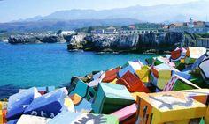 llanes. Asturias. Spain.