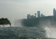 Up close and personal with the Niagara Fall