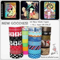 Washi Tape Sale! www.RetroCafeArt.com