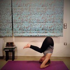 Have you always wanted to do a yoga headstand - Sirsasana but have no idea how? Here is a step-by-step headstand guide along with modifications and tricks.