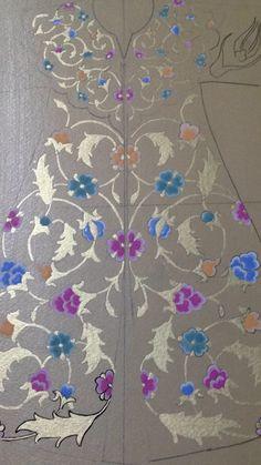 Fabal DIY round Diamond Painting Butterfly Flowers Cross Stitch Kits Diamond Mosaic Crystal Diamond Embroidery Patterns Rhinestones (E) - Embroidery Design Guide Embroidery Transfers, Embroidery Patterns, Calligraphy Lessons, Illumination Art, Turkish Art, Celtic Designs, Pattern Books, Islamic Art, Traditional Art