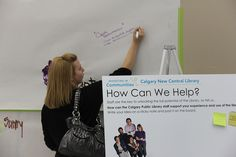 Public Engagement in northwest Calgary by YYCNewCentralLibrary, via Flickr