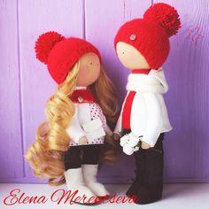 Купить Интерьерные куколки - кукла ручной работы, кукла, кукла в подарок, кукла интерьерная