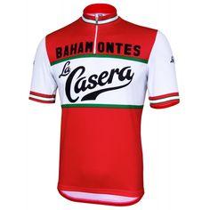 La Casera/Bahamontes Retro Jersey - Short Sleeve