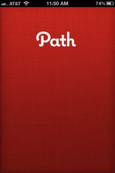 Path, Mobile Patterns - Splash Screens
