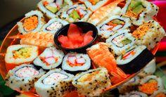 5 mejores restaurantes y sushis de la ciudad.