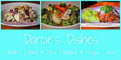 Darcie's Dishes -- THM weekly menu plans
