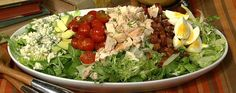 Created by Bob Cobb, owner of the famous Brown Derby restaurant in Hollywood, the Cobb salad became one of the restaurant's most popular dishes in the 1940s. Now you can make this famous salad and delicious dressing yourself right at home!