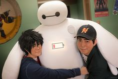 """""""Welcome to nerd school, nerd.""""→ Hiro's first day of class   SFIT student portrait   rejected SFIT student portrait   drunk roommate   """"Hey, thanks for not giving up on me""""Big Hero 6 cosplayHiro ▻ Jin (me) / Tadashi ▻ Miguel / Baymax ▻ Kerophotos by ReskiyandKat» Part of our Big Hero 6 photo series (●—●)"""