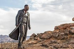 Yesterday we got a look at Entertainment Weekly's cover heralding The Dark Tower, the Stephen King adaptation starring Idris Elba as Roland the Gunslinger and Matthew McConaughey as the Man in Black, as well as the above peek at Elba. Now, a slew of new teaser images from Nikolaj Arcel's film are up.
