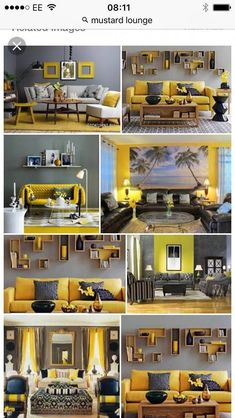 Need to make your dwelling seem like new? Need to increase the appeal and sale a… Need to make your dwelling seem like new? Need to increase the appeal and sale ability of your property? It's simpler and less expensive than you may realise. Grey And Yellow Living Room, Colourful Living Room, Indian Living Rooms, Home Living Room, Living Room Decor, Interior Design Living Room, Living Room Designs, Discount Bedroom Furniture, Living Room Color Schemes
