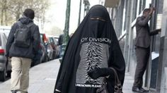 The Joy Division Burka . . . AWESOME!!!