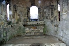 Prieuré de St-Cosme - Choeur de l'Eglise centrale