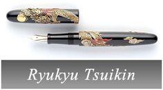 "Ryukyu Tsuikin.   Many "" Mouth-watering pens"""