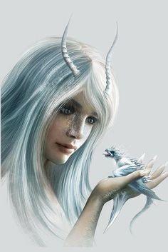 Ice dragon princess