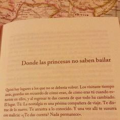 No saben bailar las princesas