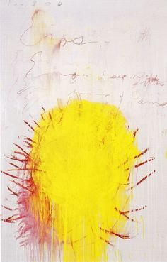 Cy Twombly - Coronation of Sesostris (2000)/Panel 3/10