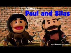 """Paul and Silas are put in jail after they cast a demon out of a women. Act 16-16:36.  """"Rejoice in the Lord always: and again I say, Rejoice."""" Philippians 4:4 KJV  **Puppets and Voices done by kids in the local youth group.**  -----Credits----- Background Music Kevin MacLeod http://incompetech.com/ http://youtube.com/user/kmmusic  Paul and Silas Bound in Jail Dean Phelps http://deanphelpsmusic.com/ http://youtube.com/user/jdphelps  Sound Effects freesound.org soundbible.com"""