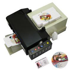 For Epson L800 High speed CD card automatic printer PVC Card DVD Disc Printing Machine with 51pcs pvc tray  pvc card //Price: $804.92//     #electonics