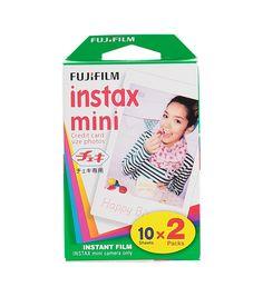 Colorfilm Instax mini Glossy (2x10/pk) goedkoopste bij de HEMA