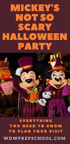 Mickey's Not So Scary Halloween Party at Disney World is full of lots of fun, but before you head there make sure you know how to make the most of your evening