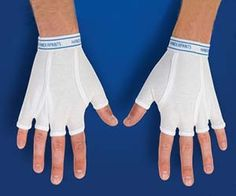 Underwear Gloves - Keep your hands warm and toasty with these stylish underwear gloves. These fingerless underwear gloves look just like real underwear and are made from 95% cotton, giving a comfortable feel while you parade around with men's underwear for gloves.  ($10.08)