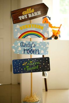 Toy Story Birthday Party Ideas | Photo 7 of 36 | Catch My Party