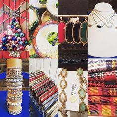 Gifting at its best!!! #madisonsbluebrick #downtownhotsprings #kendrascott #madforplaid #blanketscarves #rosegonzales #hobo #swancreekcandles #shoplocal #gifting #stockingstuffers