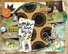 Easy Peasy Vol1 - templates by Little Butterfly Wings available at The LilyPad; Grungy & Messy {papers} by Little Butterfly Wings available at The LilyPad; Grungy & Messy {journal cards} by Little Butterfly Wings available at The LilyPad; Advice for My Younger Self by Little Butterfly Wings available at The LilyPad; Think Happy Thoughts by Little Butterfly Wings available at The LilyPad;