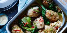 Braised Ginger Chicken with Spring Onions and Chilli by Chef Pete Evans