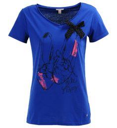 EspritTee-shirt imprimé ballerine Bleu