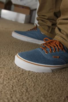 7e61a92a56 VANS Authentic California - Stained Light Blue