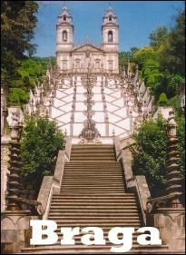 Braga, Portugal  Bom Jesus do Monte.  We've taken the stairs from the top to the bottom!  Amazing!