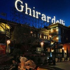 Ghirardelli Square is a landmark public square with shops and restaurants in the Fisherman's Wharf area of San Francisco, California.