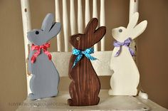 Easter chocolate bunny.  Dang cute.