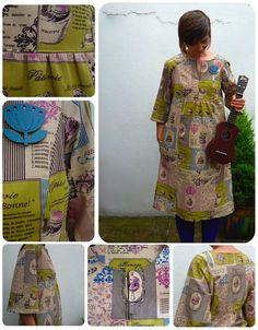 The Berlin Macaroon dress - Simplicity pattern 2363